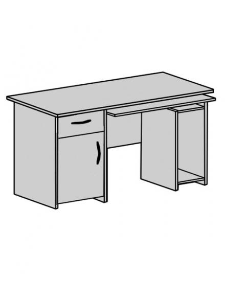 Стіл офісний:  CTK-125