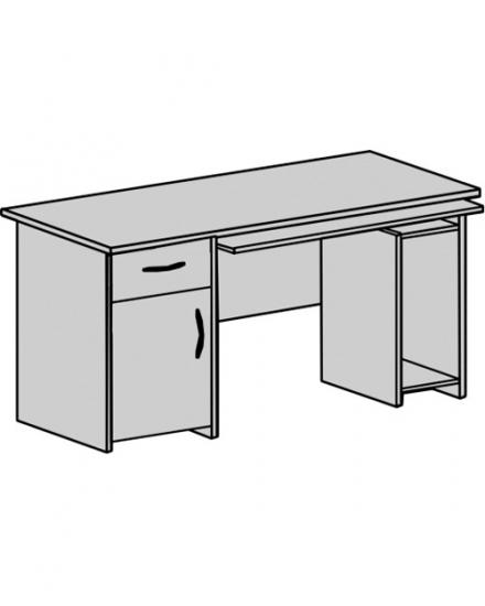 Стіл офісний:  CTK-126