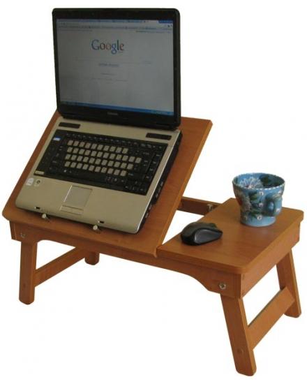 Стіл комп'ютерний: столик для ноутбука