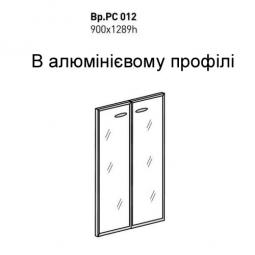 Двері скло ВР.РСО12