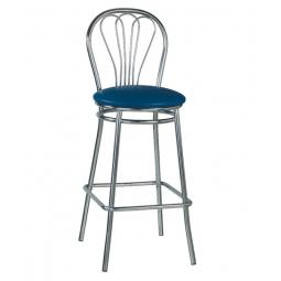 стілець барний високий: Venus hoker chrome. Фото