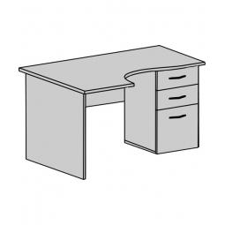 Стіл офісний: Стіл кутовий СП-145. Фото