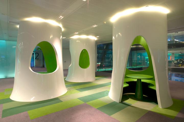 Офіс Bloomberg від Jump Studios. Лондон, Великобританія. . Фото 2