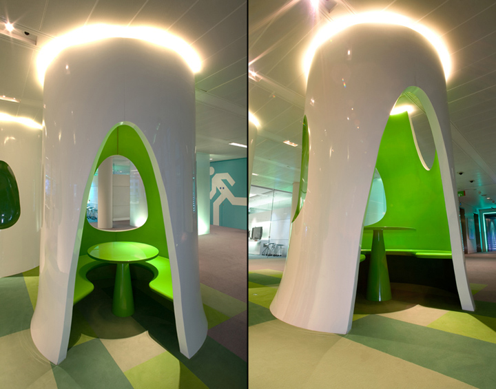 Офіс Bloomberg від Jump Studios. Лондон, Великобританія. . Фото 3