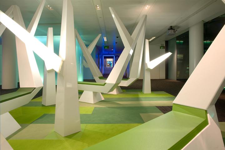 Офіс Bloomberg від Jump Studios. Лондон, Великобританія. . Фото 1