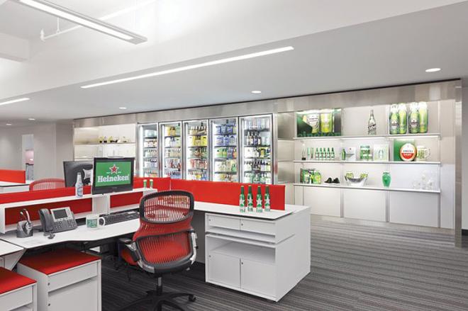 Пивна штаб-квартира Heineken в Нью - Йорку
