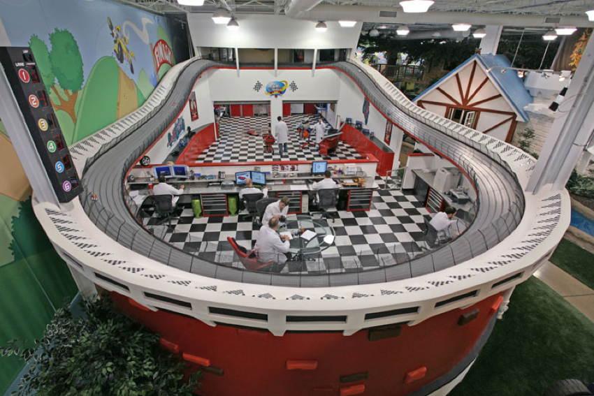 Офіс компанії Inventionland - країна чудес