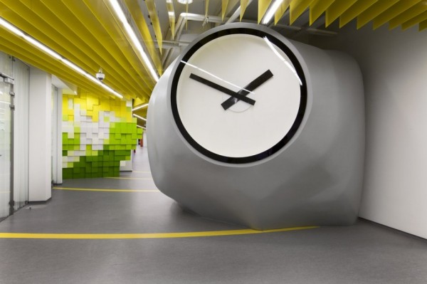 Yandex Office II - новий офіс компанії Яндекс від російських архітекторів. Фото 1
