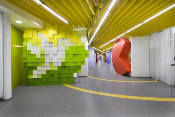 Yandex Office II - новий офіс компанії Яндекс від російських архітекторів. Фото 4