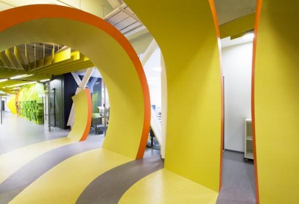 Yandex Office II - новий офіс компанії Яндекс від російських архітекторів. Фото 6
