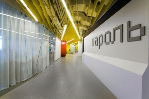 Yandex Office II - новий офіс компанії Яндекс від російських архітекторів. Фото 7
