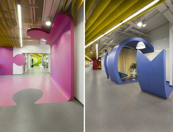Yandex Office II - новий офіс компанії Яндекс від російських архітекторів. Фото 5
