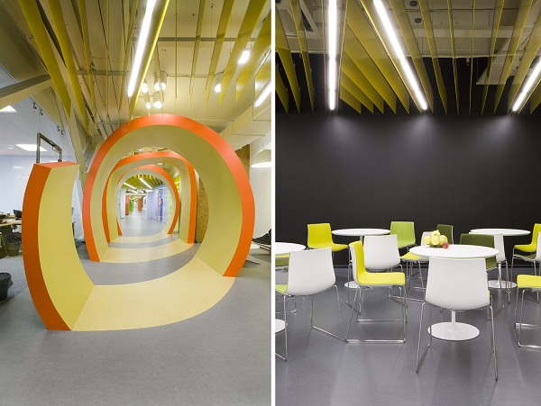 Yandex Office II - новий офіс компанії Яндекс від російських архітекторів. Фото 10