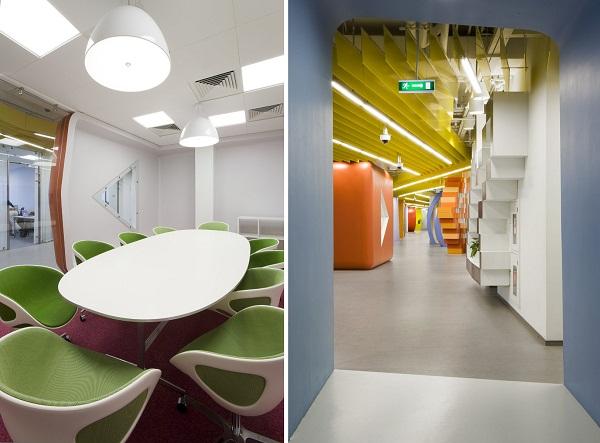 Yandex Office II - новий офіс компанії Яндекс від російських архітекторів. Фото 12
