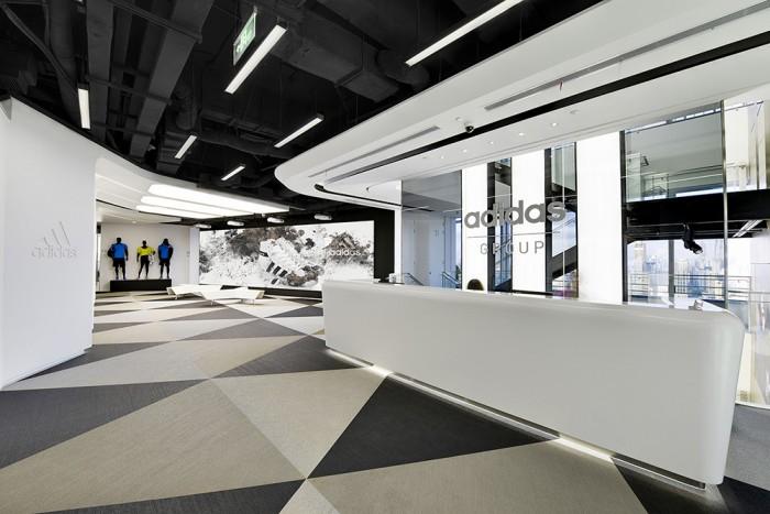 Офіс компанії Adidas в Шанхаї. Фото 2