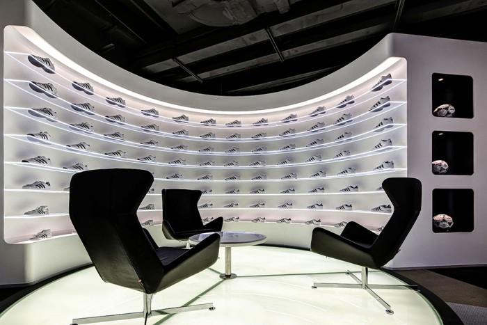 Офіс компанії Adidas в Шанхаї. Фото 3