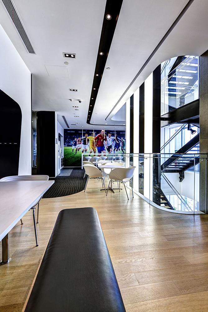 Офіс компанії Adidas в Шанхаї. Фото 8