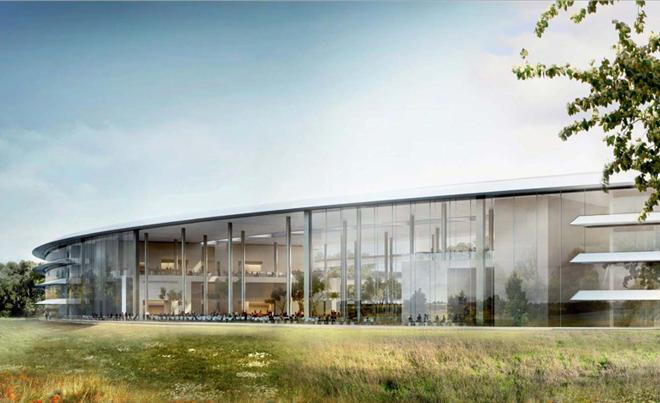 Офіс компанії Apple 2.0. Компанія з Купертіно показала деталі свого нового офісу
