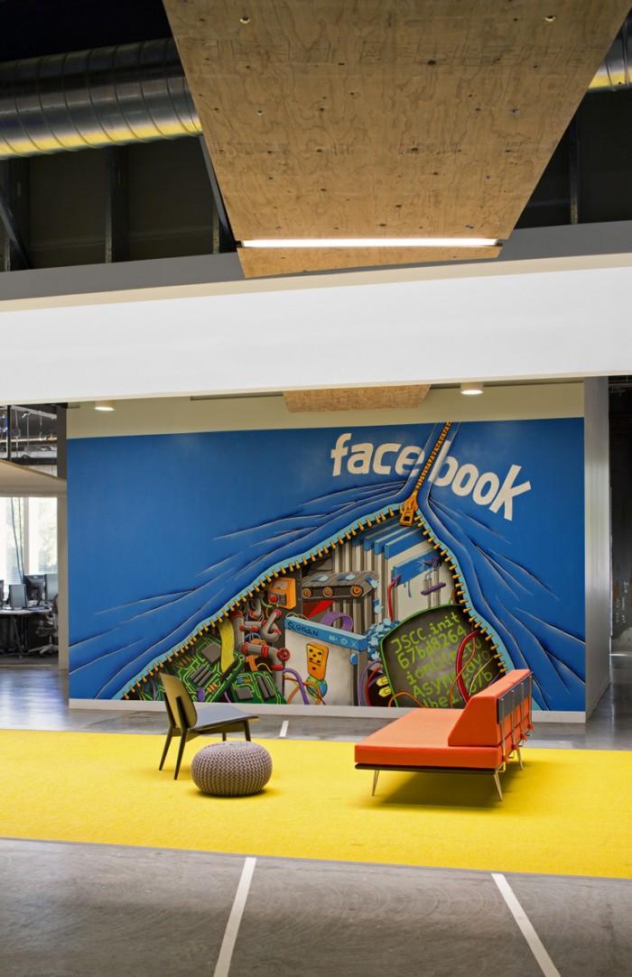 Всередині офісу Facebook - найбільшої соціальної мережі світу. Фото 14