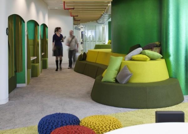 Google London Office - вражаючий офіс компанії Google в Лондоні.