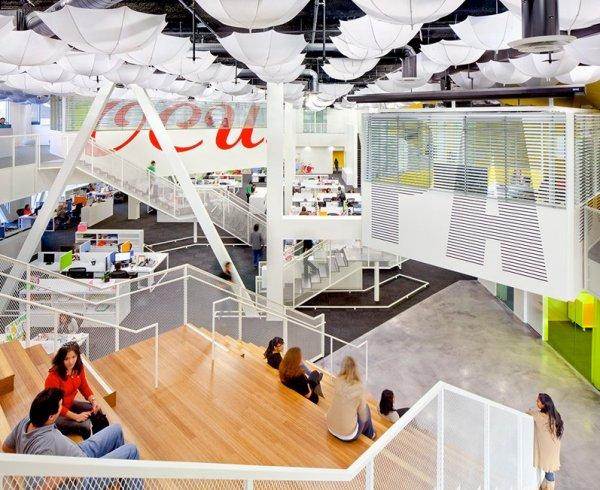 Grupo Gallegos Office - креативний офіс в приміщенні колишнього кінотеатру.