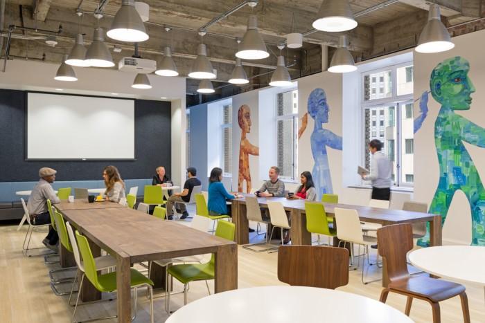 Всередині офісу Meltwater в Сан-Франциско. Фото 9