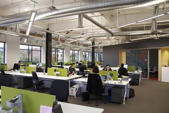 Офіс компанії Skype в Пало-Альто. Фото 1