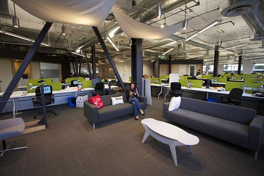 Офіс компанії Skype в Пало-Альто. Фото 2
