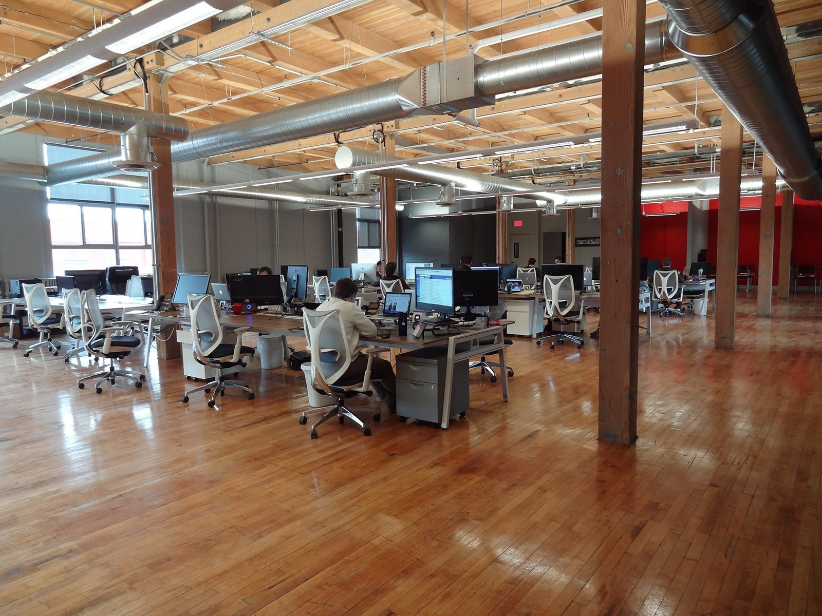 Нова штаб квартира ІТ-шної компанії Rocket 55 з Міннеаполіса. Фото 3