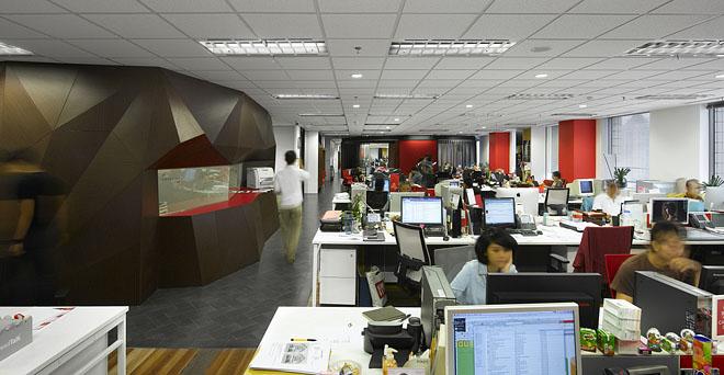 Офіс Ogilvy & Mather з атмосферою спа-салону в діловому центрі столиці Індонезії