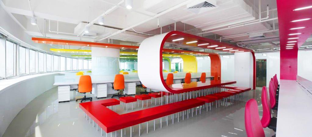 Офіс-веселка в Пекіні