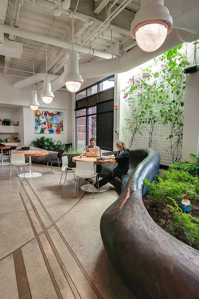 Зелений офіс компанії з розробки програмного забезпечення в Колорадо. Фото 6