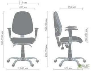 Характеристики: Крісло дитяче: Brige chrome design