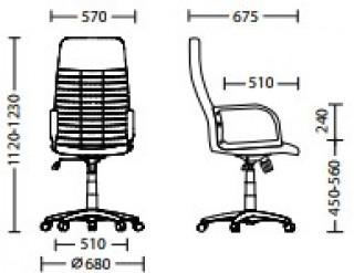 Характеристики: Крісло для керівника: BOSS KD