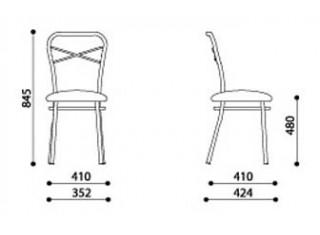 Характеристики: Стілець для кафе і бару: Castano