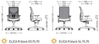 Характеристики: Крісло для персоналу: Blitz