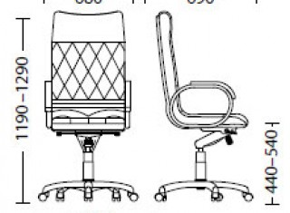Характеристики: Крісло преміум: Allegro