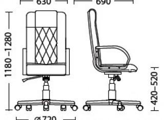 Характеристики: Крісло для керівника: Elegant