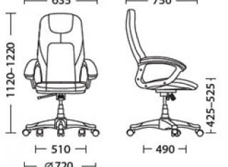Характеристики: Крісло для керівника: Forsage