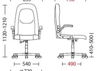 Характеристики: Крісло для керівника: Rider