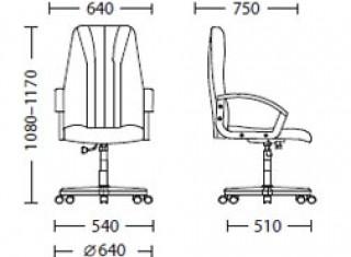 Характеристики: Крісло для керівника: Classic