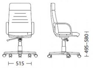 Характеристики: Крісло для керівника: Magnate