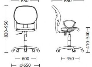 Характеристики: Крісло для персоналу: Alfa