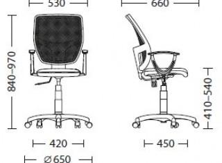 Характеристики: Крісло для персоналу: Betta