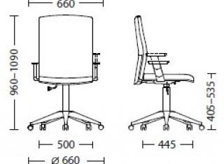 Характеристики: Крісло для персоналу: Cubik GTR
