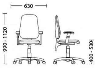 Характеристики: Крісло для персоналу: Offix GTR
