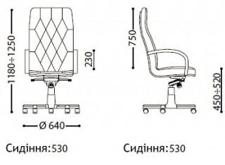 Характеристики: Крісло преміум: Cuba