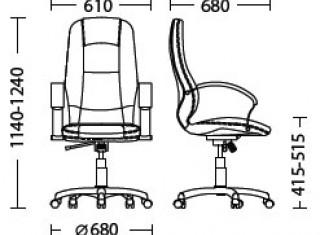 Характеристики: Крісло преміум: Modus
