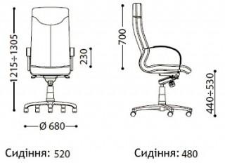 Характеристики: Крісло преміум: Rapsody extra