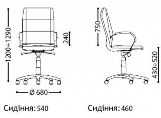 Характеристики: Крісло преміум: Star